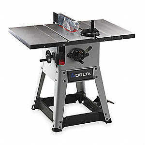 Delta 10 Quot Contractor Table Saw 10 0 20 0 Amps Blade Tilt