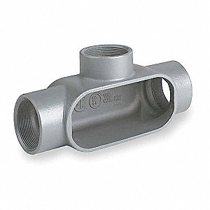Conduit Outlet Body,Iron,1-1/4 In.