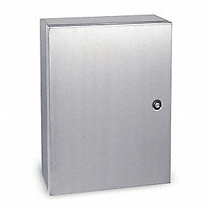 "24.00"" x 20.00"" x 8.00"" 304 Stainless Steel Enclosure"