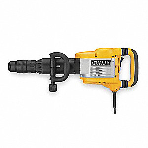 "3/4"" Hex Demolition Hammer Kit, 15 Amps @ 120V, 1620 Blows per Minute"