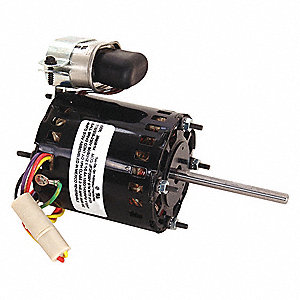 1/12 HP, HVAC Motor, Permanent Split Capacitor, 1550 Nameplate RPM, 115/208-230 Voltage, Frame 3.3