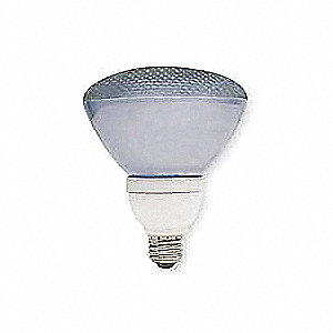 26 Watts  Screw-In CFL, PAR38, Medium Screw (E26), 1300 Lumens 2700K Bulb Color Temp.