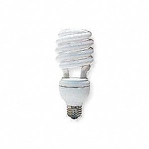 Screw-In CFL,2700K,8000 hr.,Non-Dimmable
