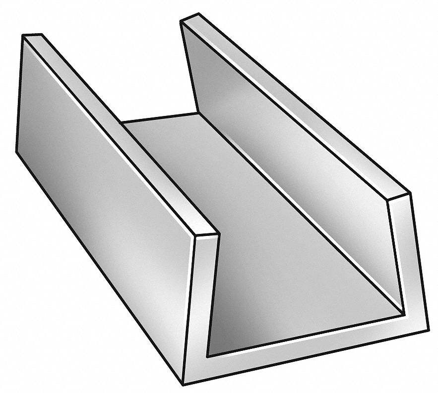 Aluminum U-shaped Channel Stock