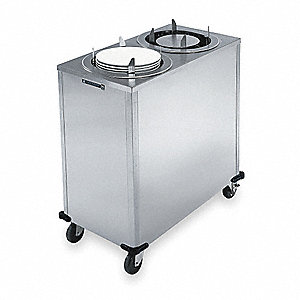 Plate Dispenser Cart,Adj,SS,26x17x39