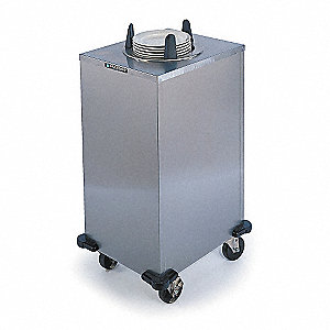 Plate Dispenser Cart,Heated,37x21x40