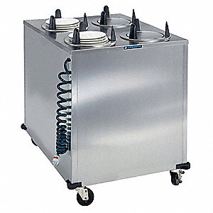 Plate Dispenser Cart,Heated,32x32x40