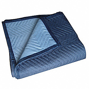 Quilted Moving Pad,L72xW80In,Blue,PK6