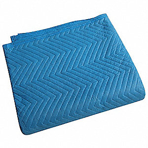 Quilted Moving Pad,L72xW80In,Blue,PK12
