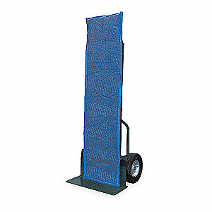 "90/10 Cotton/Poly Blend Woven Hand Truck Cover, Blue, 50""L x 15""W"