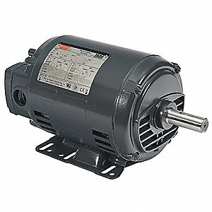 GP Mtr,3 Ph,ODP,1 HP,1170rpm,143-5T/56HZ