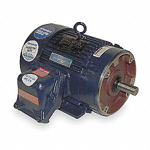 15 HP Hazardous Location Motor,1770 Nameplate RPM,208-230/460 Voltage,Frame 254TC