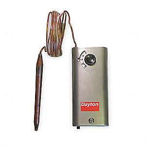 Line Voltage T-Stat,-30 to 90 F,SPST