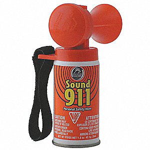 Personal Safety Horn,112dB @ 10 Ft.