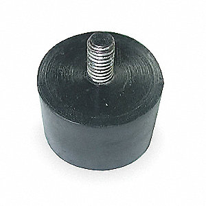 Vibration Isolator,165 Lb Max,M10 x 1.50