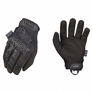 "Tactical Glove, Black, 2XL, 11"" L, PR"