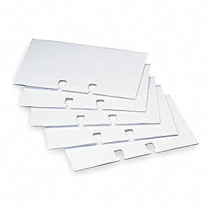 Business Card Sleeves,Plastic,PK40