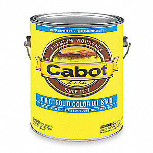 1 gal. Exterior Solid Color Oil Stain with 24 hr. Dry Time, Cordovan Brown