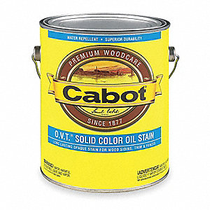 1 gal. Exterior Solid Color Oil Stain with 24 hr. Dry Time, Barn Red