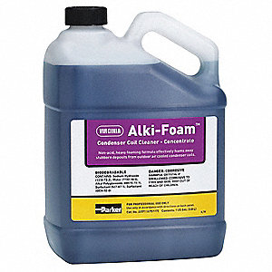 Liquid Condenser Cleaner, 1 gal., Purple Color, 1 EA