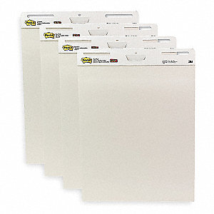 Easel Pad,Plan,30 In.,White,PK4