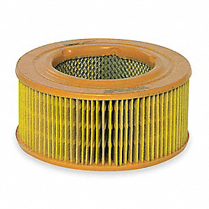 Air Filter,5-5/8 x 6-19/32 in.