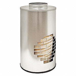 "Air Filter, Round, 25-7/8"" Height, 25-7/8"" Length, 13-17/32"" Outside Dia."