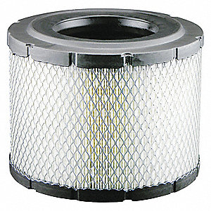 "Air Filter, Radial, 6-5/8"" Height, 6-5/8"" Length, 8-5/32"" Outside Dia."