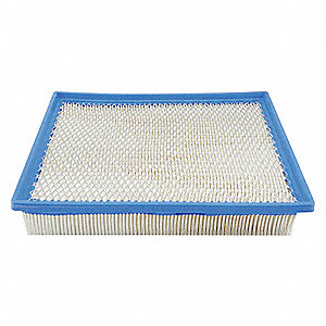Air Filter,8-15/16 x 1-29/32 in.