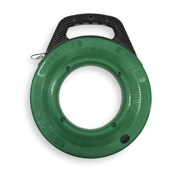 Greenlee 125 ft steel fish tape 2nxe8 fts438 125 grainger for Steel fish tape