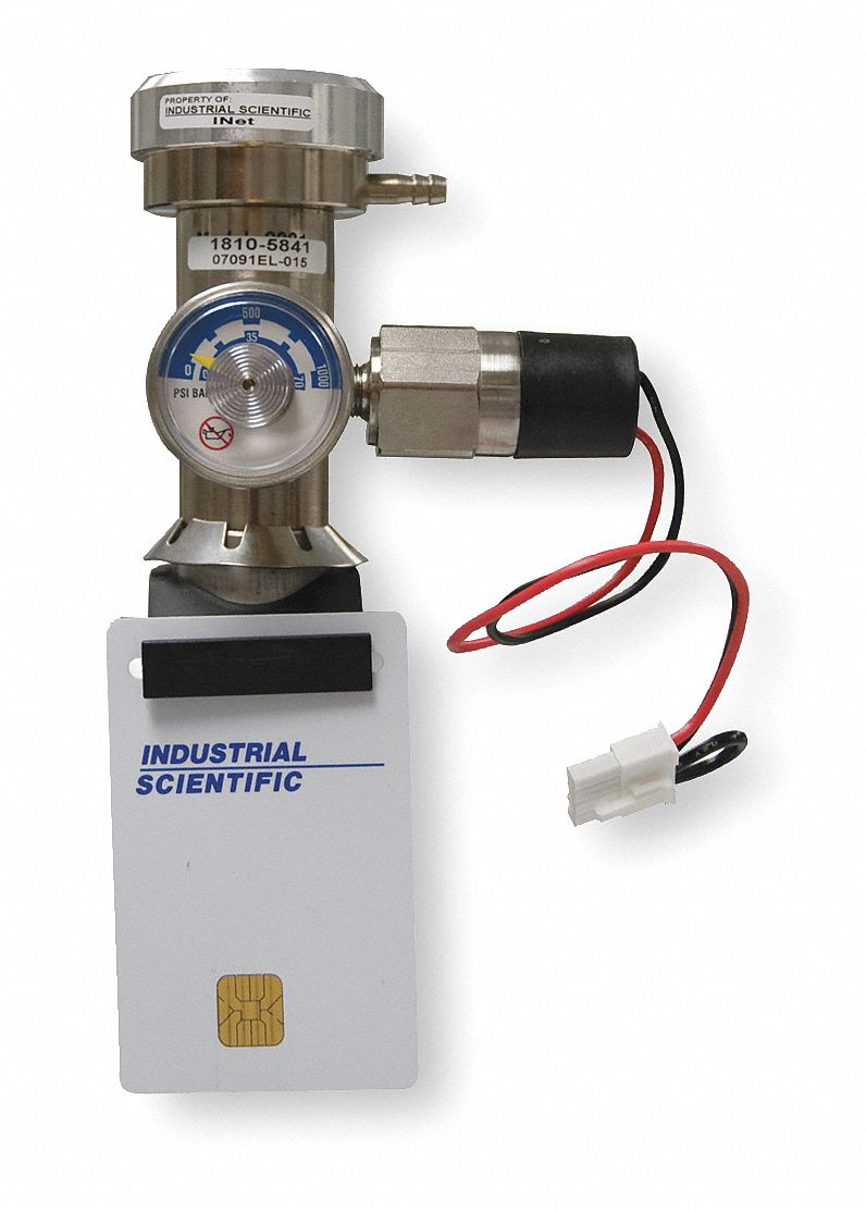 Gas Regulator with Pressure Switch, Flow Rate Demand Flow