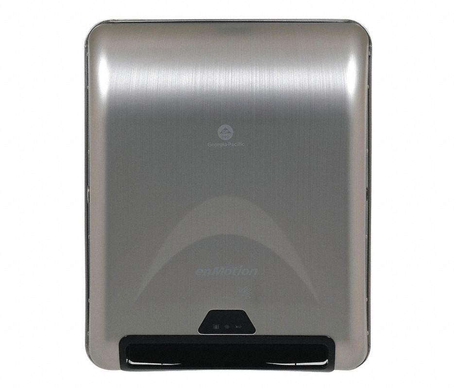 Paper Towel Dispenser,Hardwound,1Roll,SS