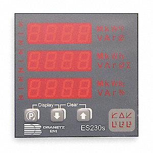 Digital Panel Meter,Power and Energy
