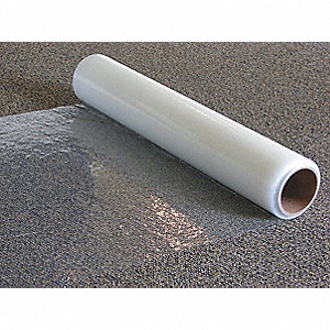"Carpet Protection Film, 200 ft. Length x 36""Width, Adhesive Coated Backing"
