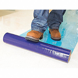 "Floor/Multi-Use Film, 200 ft. Length x 24""Width, Adhesive Coated Backing"