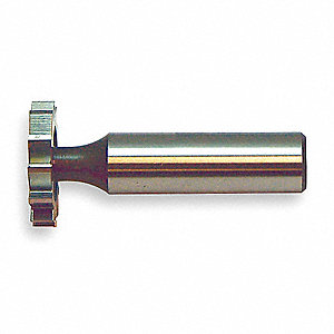 KEYSEAT CUTTER,HSS,5/8 IN,#305,STR