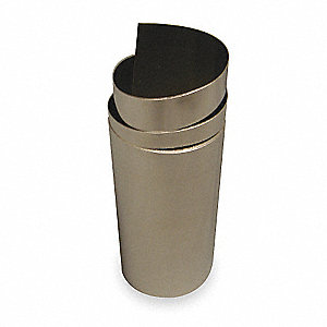 "Stainless Steel Shim Stock Roll, 316 Grade, 0.0050"" Thickness, ±0.0003"" Thickness Tolerance"