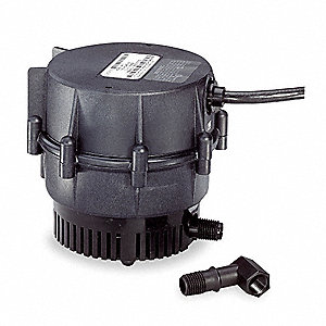 1/150 HP Compact Submersible Centrifugal Pump, 115 Voltage, Continuous Duty, 6 ft. Cord Length