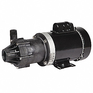 3/4 HP PPS 115/230V Magnetic Drive Pump, 58.9 ft. Max. Head