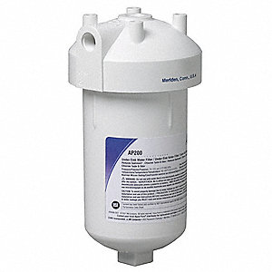 "3/8"" NPT Plastic Water Filter System, 1.75 gpm, 125 psi"