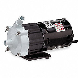 1/50 HP 115V Magnetic Drive Pump, 7 ft. Max. Head