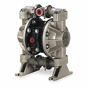 Polypropylene Santoprene® Single Double Diaphragm Pump, 13 gpm, 100 psi