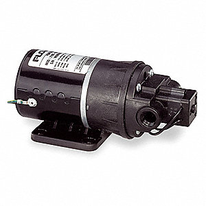 Nylon Diaphragm Electric Sprayer Pump, 1.6 GPM Max., 115VAC