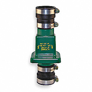 "1-1/4"" or 1-1/2"" Full Flow Check Valve, PVC, Slip x Slip Connection Type"