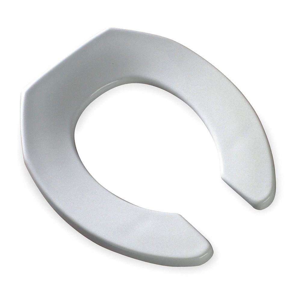 Outstanding Round Standard Toilet Seat Type Open Front Type Includes Cover No White Slow Close Hinge Dailytribune Chair Design For Home Dailytribuneorg