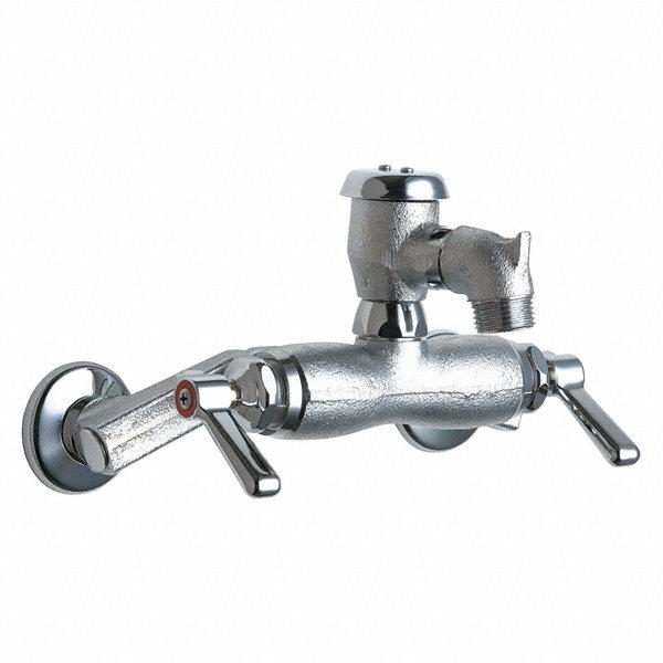 Chicago Faucets Rigid Utility Sink Faucet Lever Handle