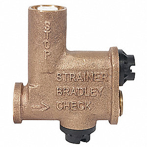 Stop Strainer, Check Valve Kit For Use With Wash Fountains
