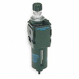 "1.68"" x 1.58"" x 6.00"" Miniature Series Modular Air Line Lubricator"