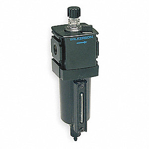 Air Line Lubricator,1/4In,88 cfm,250 psi
