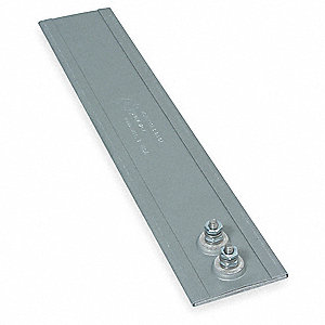 Mica Insulated Strip Heater, 900°F, 240VAC, Watts 300, 28W/sq. in., Overall Length 12""